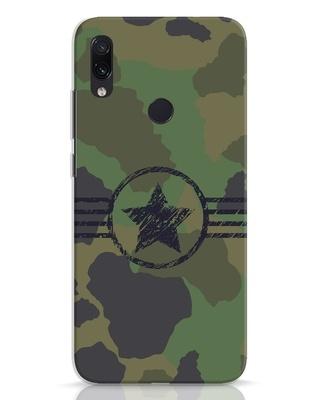 Shop Army Xiaomi Redmi Note 7 Pro Mobile Cover-Front