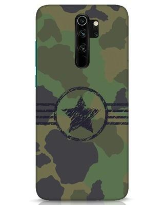 Shop Army Xiaomi Redmi Note 8 Pro Mobile Cover-Front