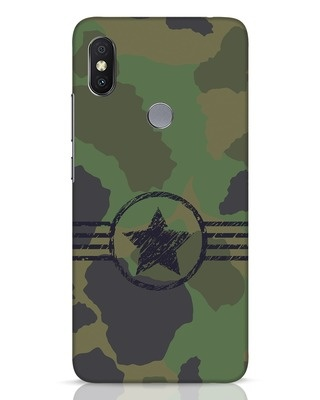 Shop Army Xiaomi Redmi Y2 Mobile Cover-Front