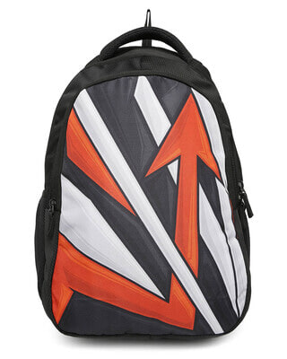 Shop Arrow Graphic Printed 23 Litre Backpack-Front