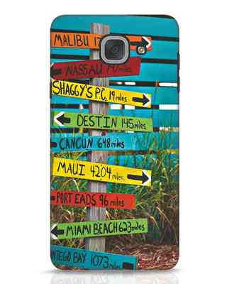 Shop Arrows 2 Samsung Galaxy J7 Max Mobile Cover-Front
