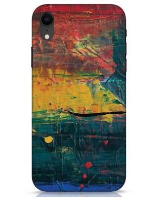 Shop Art Colour iPhone XR Mobile Cover-Front