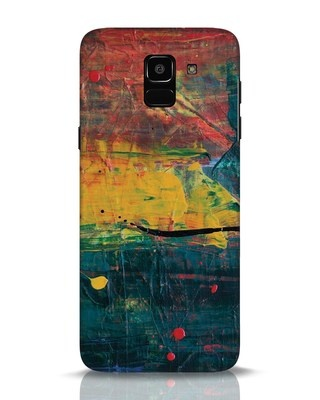 Shop Art Colour Samsung Galaxy J6 Mobile Cover-Front