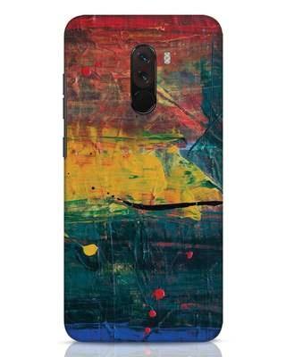 Shop Art Colour Xiaomi POCO F1 Mobile Cover-Front