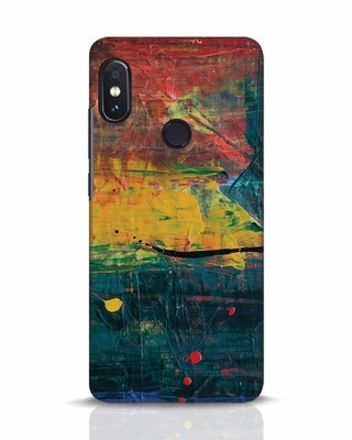 Shop Art Colour Xiaomi Redmi Note 5 Pro Mobile Cover-Front