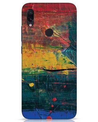 Shop Art Colour Xiaomi Redmi Note 7s Mobile Cover-Front