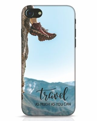 Shop As Much As You Can iPhone 7 Mobile Cover-Front