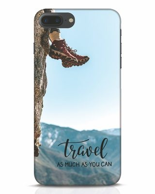 Shop As Much As You Can iPhone 7 Plus Mobile Cover-Front