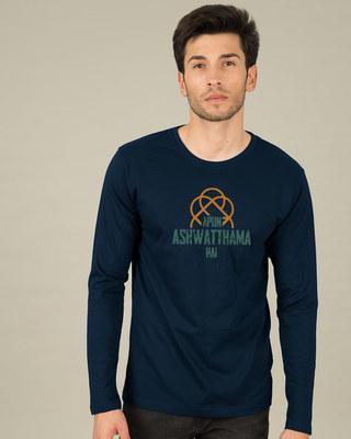Shop Ashwatthama Full Sleeve T-Shirt-Front
