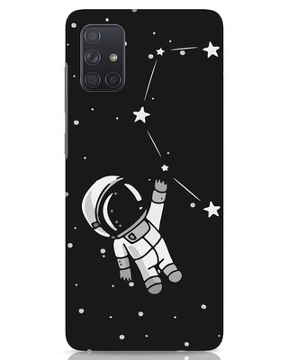 Shop Astro Love Samsung Galaxy A71 Mobile Cover-Front