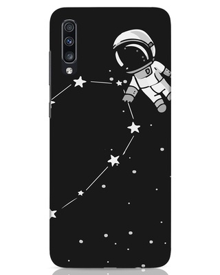 Shop Astro Valentine Samsung Galaxy A70 Mobile Cover-Front