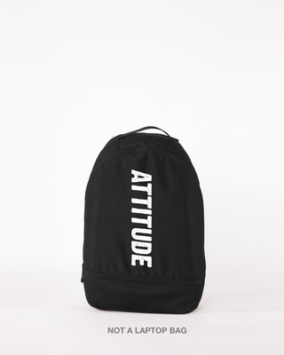 Shop Attitude Small Backpack-Front