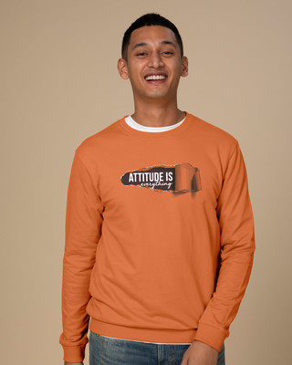 Shop Attitude Is Everything Sweatshirt-Front
