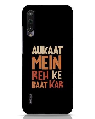 Shop Aukaat Mein Reh Kar Baat Kar Xiaomi Mi A3 Mobile Cover-Front