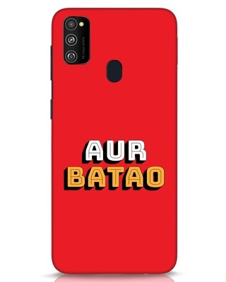 Shop Aur Batao Samsung Galaxy M30s Mobile Cover-Front
