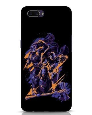 Shop Avenger Heroes Oppo A3S Mobile Cover (AVL)-Front