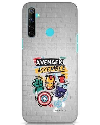Shop Avengers Assemble Realme Narzo 10 Mobile Cover (AVL)-Front
