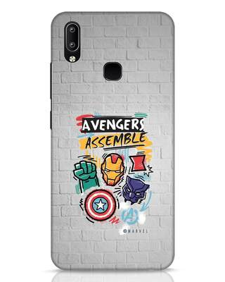 Shop Avengers Assemble Vivo Y91 Mobile Cover (AVL)-Front