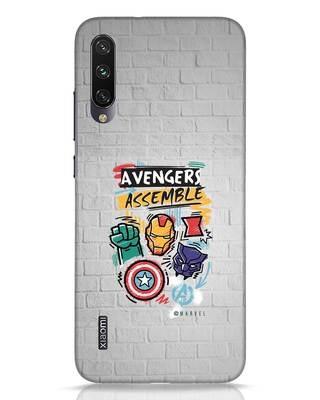 Shop Avengers Assemble Xiaomi Mi A3 Mobile Cover (AVL)-Front