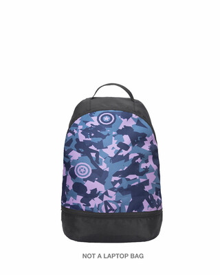 Shop Avengers Camouflage Printed Mini Small Backpacks (AVL)-Front