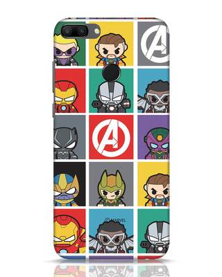 Shop Avengers Chibi Huawei Honor 9N Mobile Cover (AVL)-Front