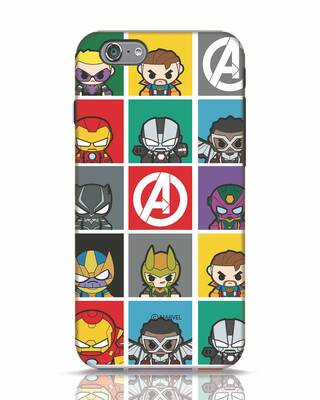 Shop Avengers Chibi iPhone 6s Mobile Cover (AVL)-Front