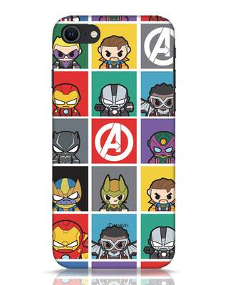Shop Avengers Chibi iPhone SE 2020 Mobile Cover (AVL)-Front