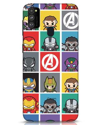 Shop Avengers Chibi Samsung Galaxy M30s Mobile Cover (AVL)-Front