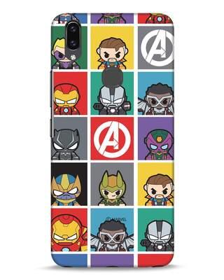 Shop Avengers Chibi Vivo V9 Mobile Cover (AVL)-Front