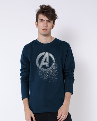 Shop Avengers Dispersion Full Sleeve T-Shirt (AVL)-Front