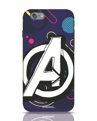 Shop Avengers Doodle iPhone 6s Mobile Cover (AVL)-Front