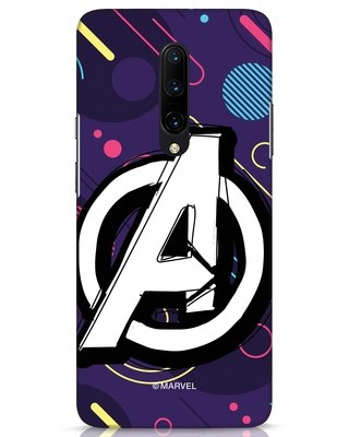 Shop Avengers Doodle OnePlus 7 Pro Mobile Cover (AVL)-Front