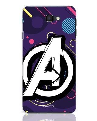 Shop Avengers Doodle Samsung Galaxy J7 Prime Mobile Cover (AVL)-Front