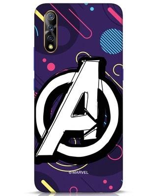 Shop Avengers Doodle Vivo S1 Mobile Cover (AVL)-Front