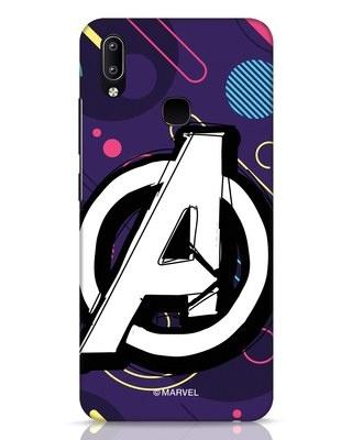 Shop Avengers Doodle Vivo Y91 Mobile Cover (AVL)-Front