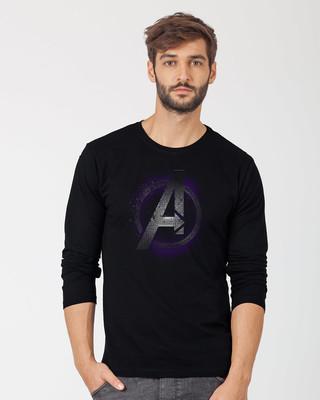 Shop Avengers Endgame Full Sleeve T-Shirt (AVL)-Front