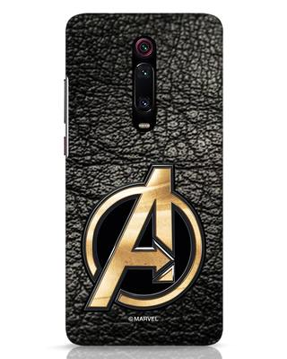 Shop Avengers Gold Logo Xiaomi Redmi K20 Mobile Cover-Front