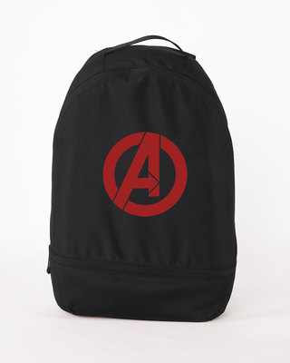 Shop Avengers Logos Essential mini Backpack (AVL)-Front
