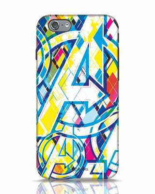 Shop Avengers Pop iPhone 6s Mobile Cover (AVL)-Front