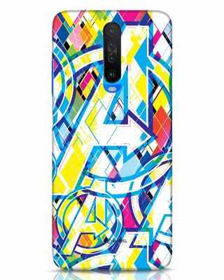 Shop Avengers Pop Xiaomi Poco X2 Mobile Cover (AVL)-Front