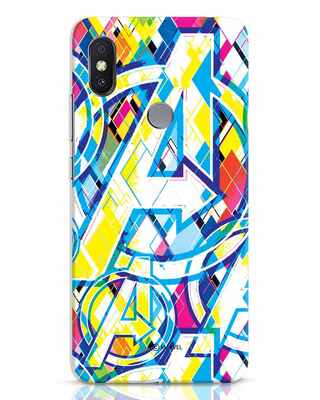 Shop Avengers Pop Xiaomi Redmi Y2 Mobile Cover (AVL)-Front