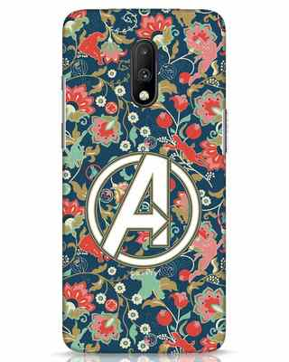 Shop Avengers Sketch OnePlus 7 Mobile Cover (AVL)-Front