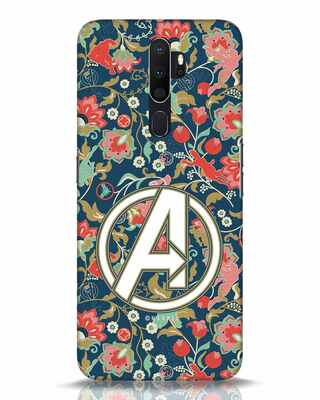Shop Avengers Sketch Oppo A5 2020 Mobile Cover (AVL)-Front