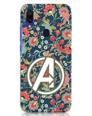Shop Avengers Sketch Xiaomi Redmi 7 Mobile Cover (AVL)-Front