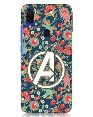 Shop Avengers Sketch Xiaomi Redmi Y3 Mobile Cover (AVL)-Front