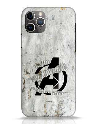 Shop Avengers Tear iPhone 11 Pro Mobile Cover (AVL)-Front