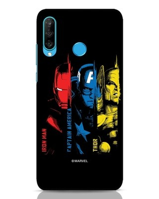 Shop Avengers Trio Huawei P30 Lite Mobile Cover (AVL)-Front