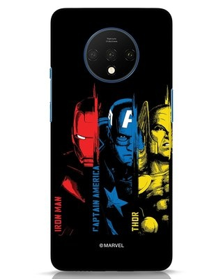 Shop Avengers Trio OnePlus 7T Mobile Cover (AVL)-Front