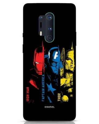 Shop Avengers Trio OnePlus 8 Pro Mobile Cover (AVL)-Front