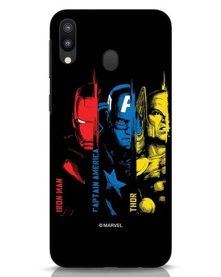 Shop Avengers Trio Samsung Galaxy M20 Mobile Cover (AVL)-Front